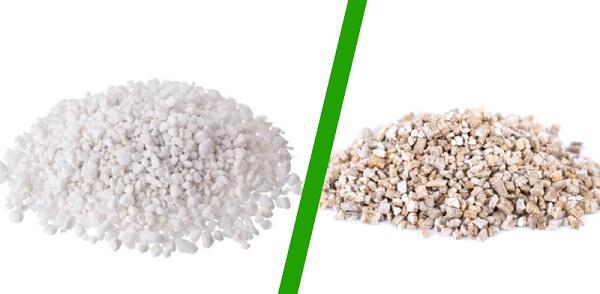 So sánh đá Vermiculite và Perlite