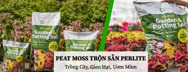 LC Global - Địa chỉ cung cấp peat moss trộn sẵn perlite chất lượng tại Hà Nội